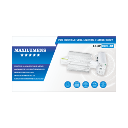 Luminaria Maxilumens 1000W